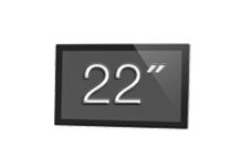 22 inch touchscreeh monitor by horizon display