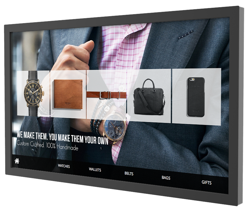 Horizon's Fuse interactive software retail touch application