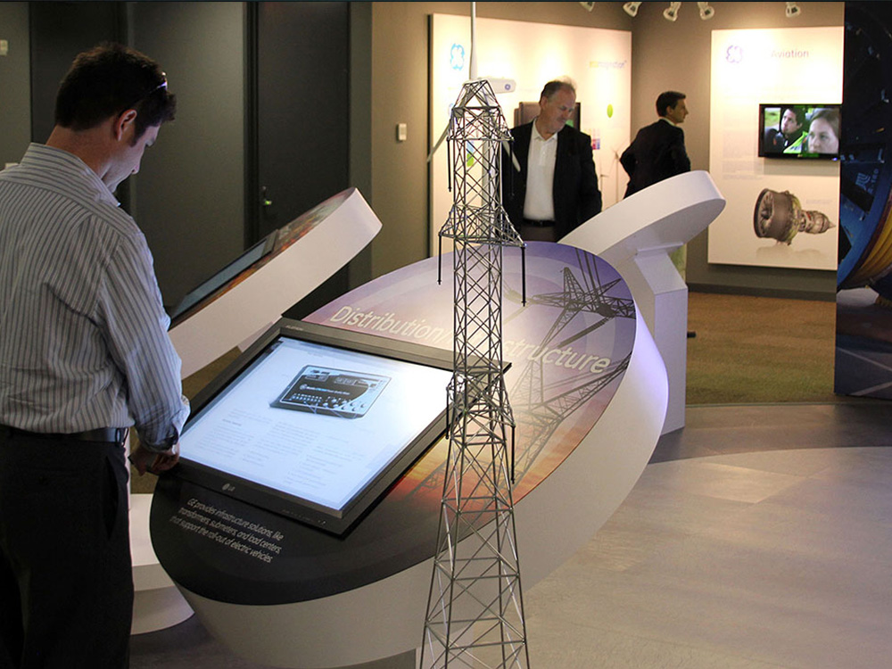 General Electric Built a High Tech Interactive Center