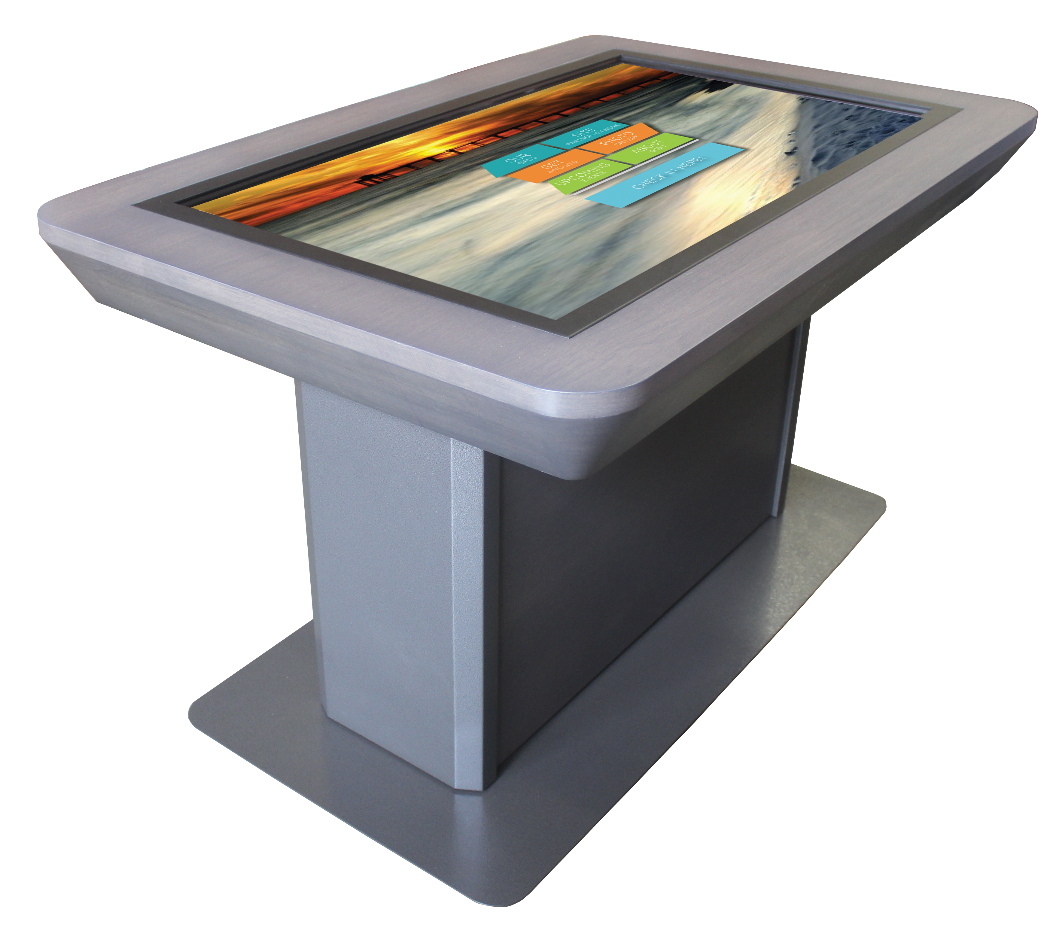 Interactive Touch Table with Fuse Touch Software by Horizon Display