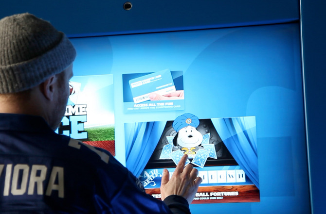 Sports Stadium Interactive Exhibit by Horizon Display Metlife