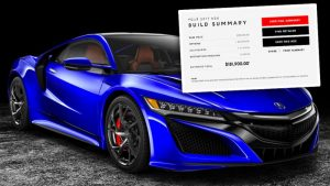 Retail Acura NSX Touchscreen Configurator Dealership Experience by Horizon Display